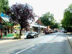 Main Street of Woodhall Spa Main Street, Street View, Caravan Holiday, Fine Hotels, Short Break, Spa, England, Rustic, Holidays