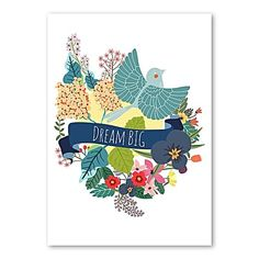 Dream Big Print Art by Americanflat