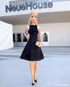 I just got this dress at NeueHouse! I love their clothes! Bad Barbie, Barbie Model, Barbie Life, Barbie World, Barbie Dress, Barbie Clothes, Barbie Style, Girl Barbie, Barbie House