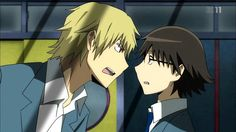 Durarara!! Shizuo and Shinra