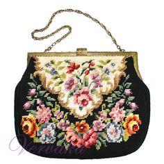 Gallery.ru / Фото #98 - КОШЕЛЬКИ И СУМОЧКИ-2 - GAVRUCHA Vintage Purses, Vintage Bags, Vintage Handbags, Vintage Shoes, Beaded Purses, Beaded Bags, Coin Purse Tutorial, Carpet Bag, Embroidery Bags
