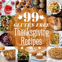 Gluten-free Thanksgiving Recipes 99 Gluten-free Thanksgiving Recipes (some are dairy free). Great to have for the Gluten-free Thanksgiving Recipes (some are dairy free). Great to have for the holidays. Gluten Free Thanksgiving, Thanksgiving Recipes, Holiday Recipes, Gf Recipes, Dairy Free Recipes, Healthy Recipes, Healthy Meals, Chicken Recipes, Pumpkin Recipes