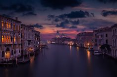 Venice sunset from the Academia bridge - Venetian Magic: Venice sunset from the Academia bridge