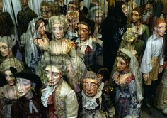 Marionette Characters from Mozart's The Marriage of Figaro