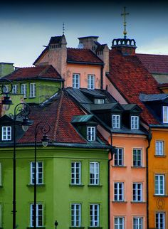 Old Town, Warsaw by starseeds, via Flickr