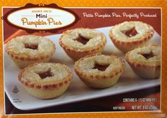 Yep, it's possible to buy your entire Thanksgiving dinner at your favorite affordable grocery store. Presenting 15 Trader Joe's Thanksgiving goodies you have to try. Mini Pumpkin Pies, Mini Pies, Good Enough To Eat, Trader Joes, Grocery Store, Thanksgiving Recipes, Bagel, Frozen, Menu