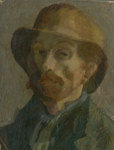 Vincent van Gogh Self Portrait Paris