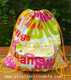 nueva mochila impermeable by www.eltallercitodefa.com