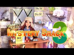 How to Make Gravity Falls Mystery Shack Part 3 Doll Crafts - YouTube