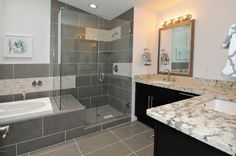 Really like this shower / bath combo