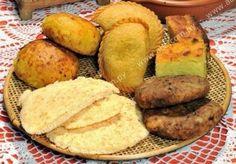 Mbeju. ..chipa so'o. ..pastel mandi'o...sopa paraguaya....pajagua maskada.....comidas típicas de Paraguay