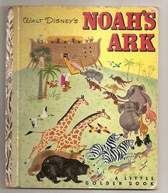 Little Golden Book~NOAH'S ARK