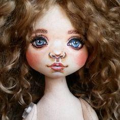 """""""Первая ;) #текстильнаякукла #хендмейд #handmade #doll #textiledoll #clothdoll"""""""