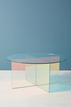 Anthropologie Iridescence Coffee Table
