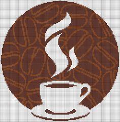 coffee cup punto croce