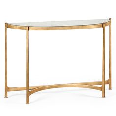 Jonathan Charles Artanis Half Moon Console Table | Sweetpea and Willow