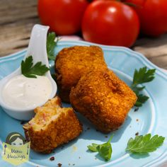Menu Musings of a Modern American Mom: Fried Pimento Cheese Bites
