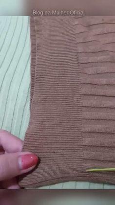 Dicas de Corte e Costura! ✂ salve este 📌 - Bestworld Tutorial and Ideas Sewing Hacks, Sewing Tutorials, Sewing Crafts, Diy Crafts For Adults, Diy And Crafts, Sewing Clothes, Diy Clothes, Costura Diy, How To Wear Scarves