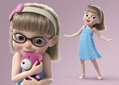 school Cartoon Girl Rigged rig rigged setup cartoon, formats FBX, MA, MEL, ready for animation and other projects School Cartoon, Happy Cartoon, Owl Cartoon, Cute Cartoon Girl, Cartoon Girl Drawing, Cartoon Family, Zbrush Character, 3d Character, Girl Cartoon Characters
