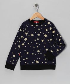 Take a look at this Midnight Star Sweatshirt - Infant & Kids by Oh Baby London on #zulily today!