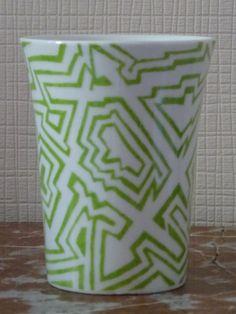 Mug porcelaine fantaisie : Vaisselle, verres par pigments-et-kaolin
