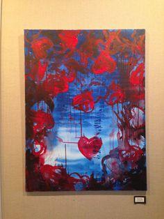 "Monica Garvey, Ironwood High School Acrylic on canvas ""Handmade #63"""