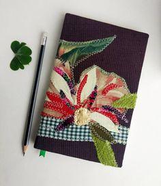 Botanical Journal, Floral Journal, Flower Journal, Nature lover Journal, Customized Journal, Journals, Diary, Notebooks, travel journal