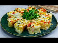 Naučte se správně plnit pita chléb - tento recept vás nezklame!| Chutný TV - YouTube Pain Pita, Baked Potato, Tacos, Rolls, Breakfast, Ethnic Recipes, Youtube, Tv, Food