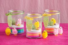DIY Mini Easter Terrariums | Shelterness