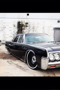 "Dropped Lincoln Continental ""Super Sweet"""