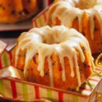Orange-cranberry Glazed Mini Bundt Cakes Recipe