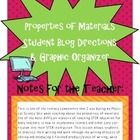 This is one of the literacy components that I use during my Physical Science Unit when teaching about the properties of materials.  One of the most...