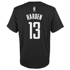 Boys 8-20 Adidas Houston Rockets James Harden Tee, Size: Xl(18/20), Ovrfl Oth