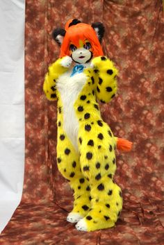 One of the most adorable furry costumes ever!!!!