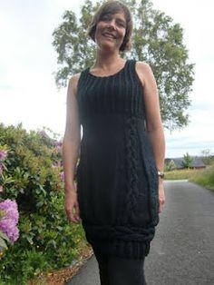 Tine Solheim strikket i Falk fra Dale
