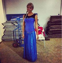 Disney Elsa costume frozen summer long hair