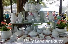 English White Staffordshire presented by Holly Lane Antiques at the Del Mar Antique Show
