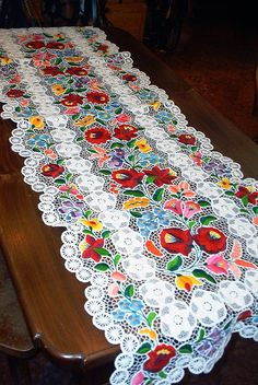 """Знаменитая венгерская цветная гладь """"калочаи"""" - Ярмарка Мастеров - ручная работа, handmade"""