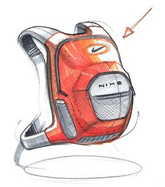 nike bag_sketch-a-day