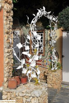 Obras de Arte de Casa Pratginestós: DECORACIONES EN FORJA