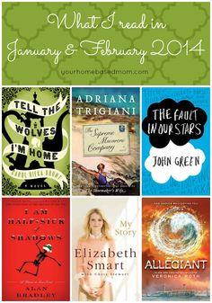 What I read in January and February
