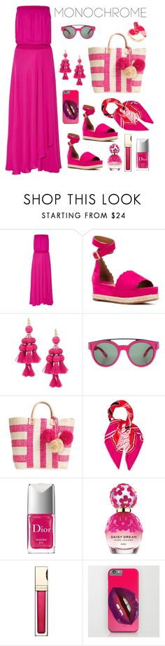 """""""Pinkie swear"""" by frogers21 ❤ liked on Polyvore featuring Haute Hippie, Chloé, Kate Spade, Givenchy, Mar y Sol, Hermès, Christian Dior, Marc Jacobs and Clarins"""