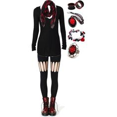 """""""Untitled #1187"""" by bvb3666 on Polyvore"""