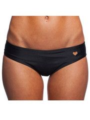 Black Heart Cut Out Bottom Swimwear - S / Black