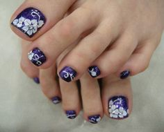 Toe Nails for Beginners #ToeNails