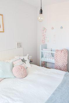 Pastel decor Pastel Decor, Nordic Home, Photo And Video, Bedroom, Furniture, Instagram, Home Decor, Decoration Home, Room Decor