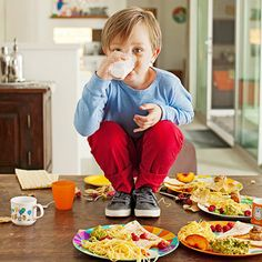 It Still Matters: How to Teach Good Manners Yes, I have been to a party with a mom who put her kid (with cowboy boots) on the table. They suffer from almost no good manners!