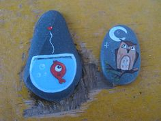 .: painted stones :.