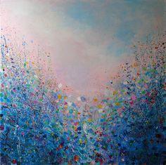 """Saatchi Online Artist Sandy Dooley; Painting, """"Evening Garden"""" #art"""