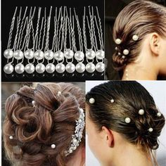 amazones gadgets 20PCS White Pearl Alloy Hairpins Wedding Bride Hair Accessories: Bid: 15,96€ Buynow Price 15,96€ Remaining 14 hrs 50 mins…